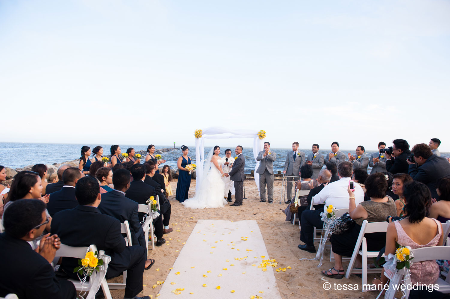Photo: Wedding Ceremony Waterfront
